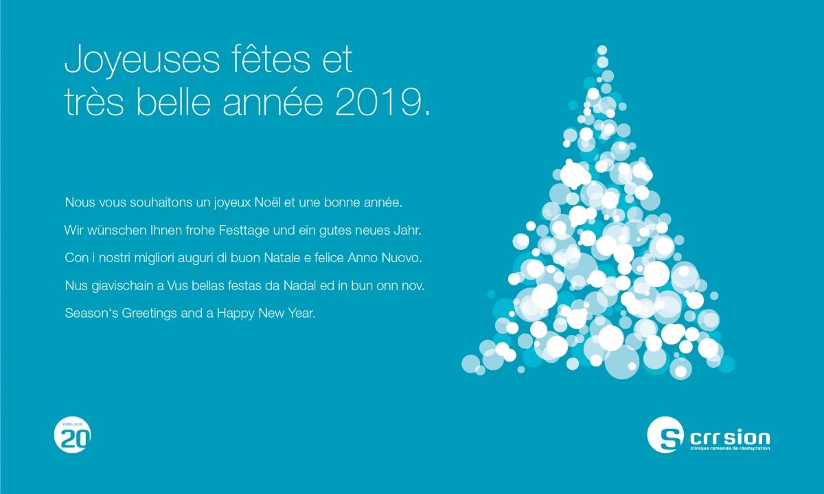Wir Wünschen Euch Frohe Weihnachten Und Ein Gutes Neues Jahr.Frohe Festtage Und Ein Gutes Neues Jahr 2019 Clinique Romande De